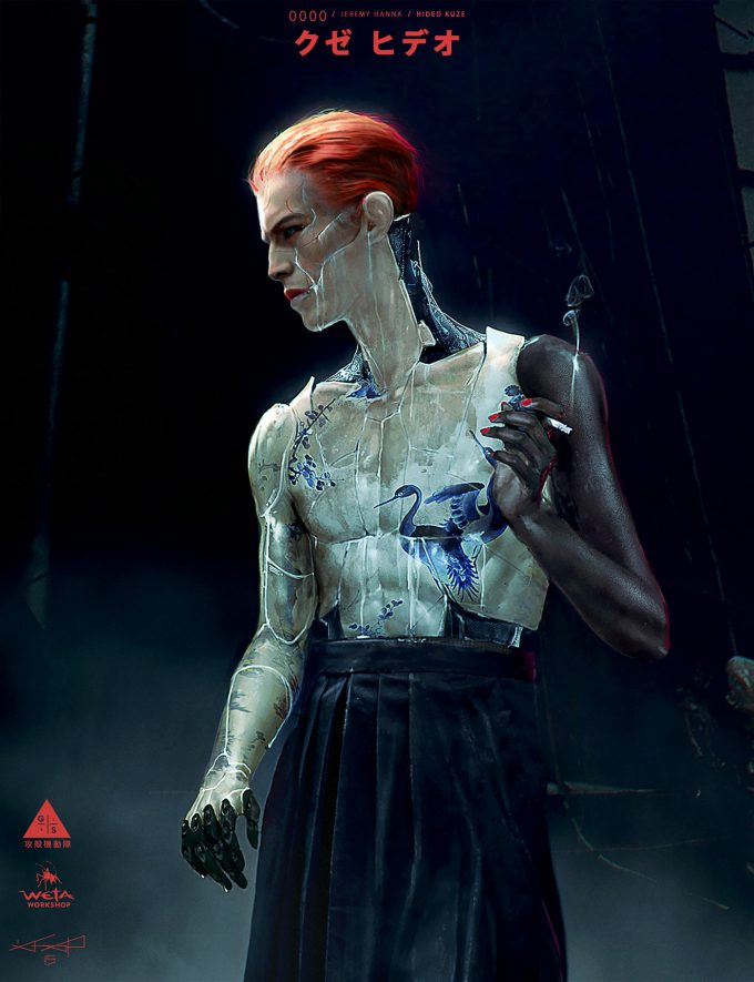 Jeremy Hanna Ghost In the Shell Concept Art KUZE front JH