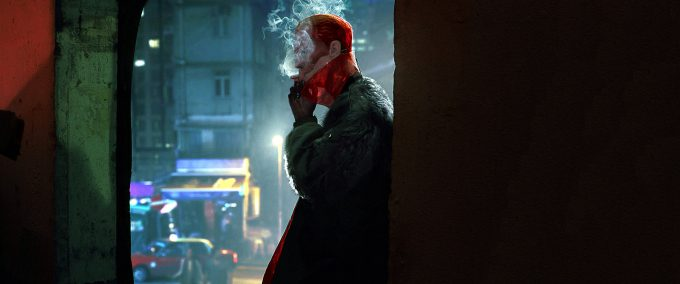 Jeremy Hanna Ghost In the Shell Concept Art yakuza club silhouette JH