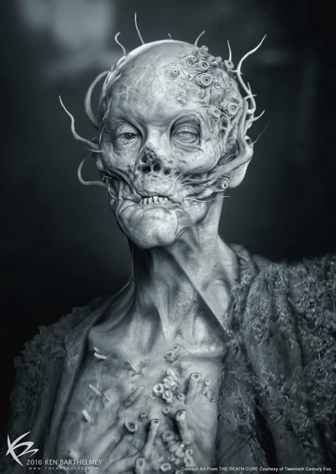 Maze Runner The Death Cure Concept Art Ken Barthelmey 01