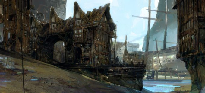 Advanced Digital Painting with Thomas Scholes town final