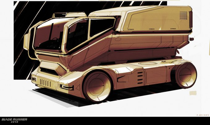 Blade Runner 2049 Concept Art Adam Baines tiboro 20161214 carsketch resized 001 ab
