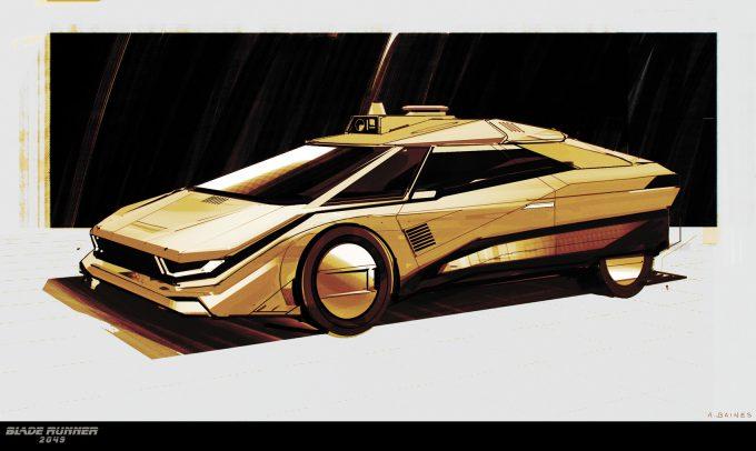 Blade Runner 2049 Concept Art Adam Baines tiboro 20161214 carsketch resized 002 ab