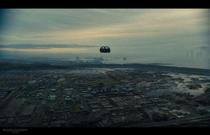 Blade Runner 2049 Concept Art Adam Baines triboro 20170123trashmesaflyover resized01 ab