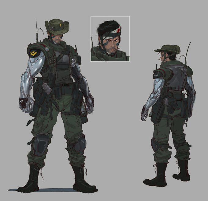 Character Design with Paul Richards Twin Blast commando 02