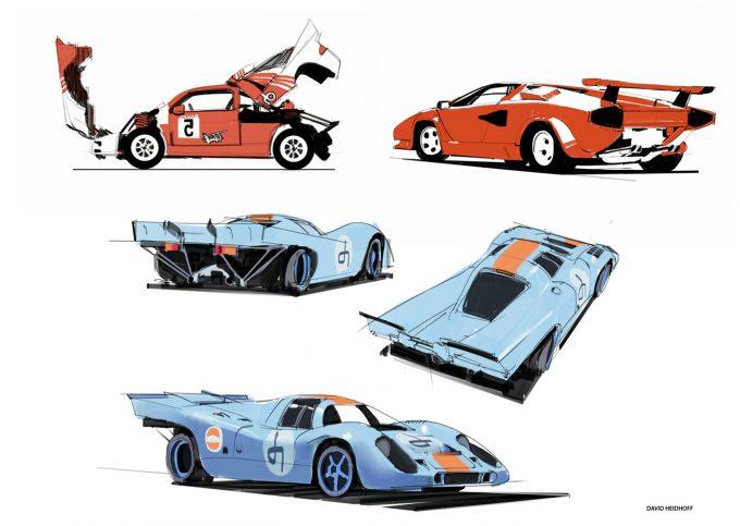 Hard Surface Design with David Heidhoff cars