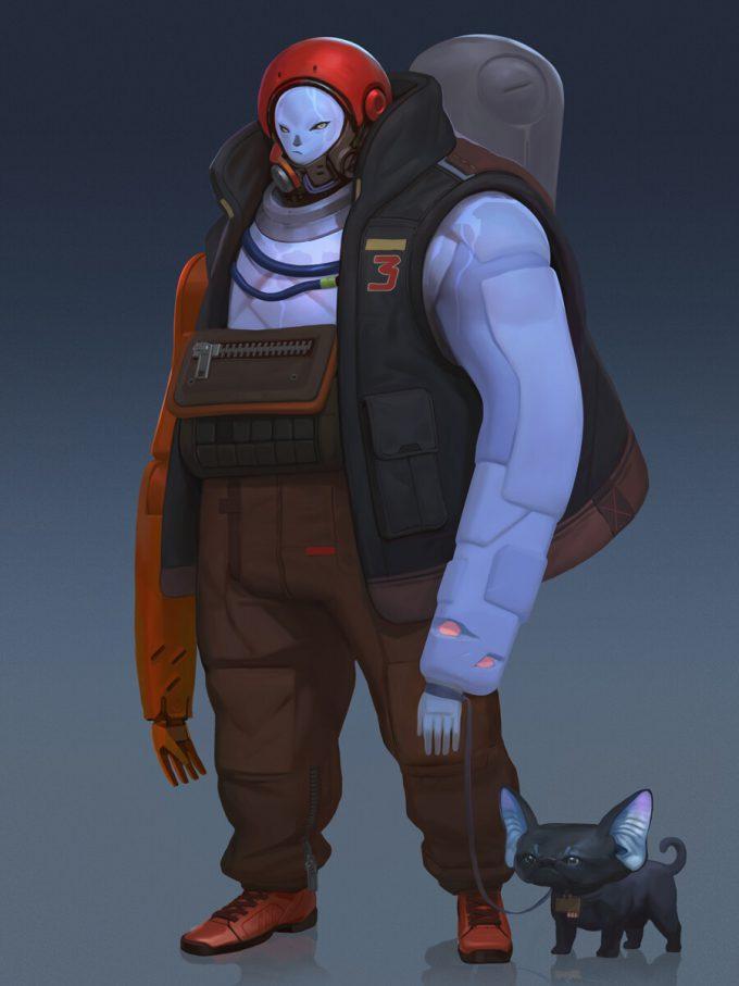 Konstantin Maystrenko Character Concept Art Illustration robyaka 13