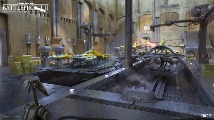 Star Wars Battlefront II Concept Art Joseph McLamb 16