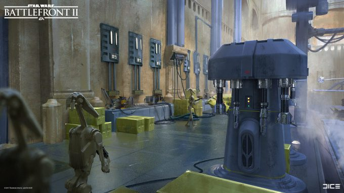 Star Wars Battlefront II Concept Art Joseph McLamb 17