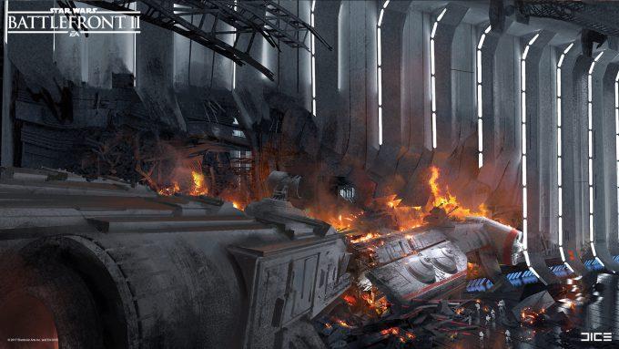 Star Wars Battlefront II Concept Art Joseph McLamb 23