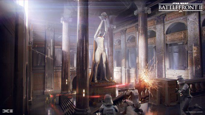 Star Wars Battlefront II Concept Art Joseph McLamb 48