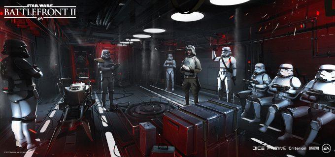 Star Wars Battlefront II Concept Art Mathieu Latour Duhaime 01