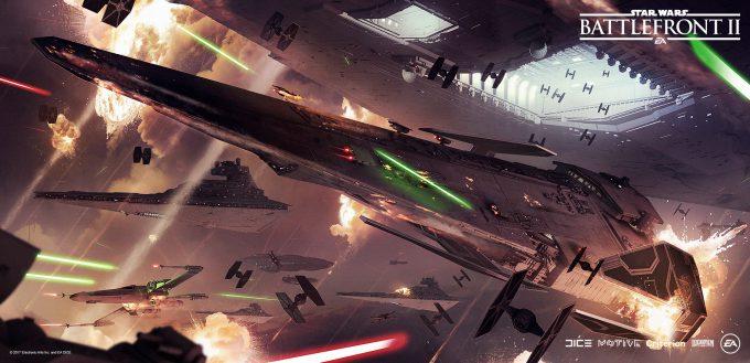Star Wars Battlefront II Concept Art Mathieu Latour Duhaime 03