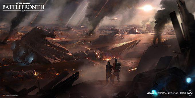 Star Wars Battlefront II Concept Art Mathieu Latour Duhaime 06