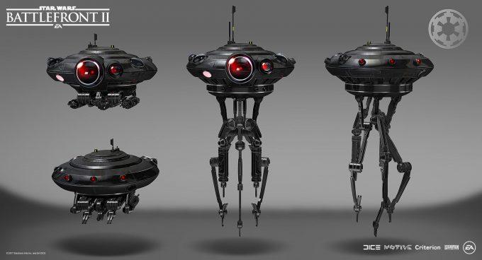 Star Wars Battlefront II Concept Art Mathieu Latour Duhaime 14