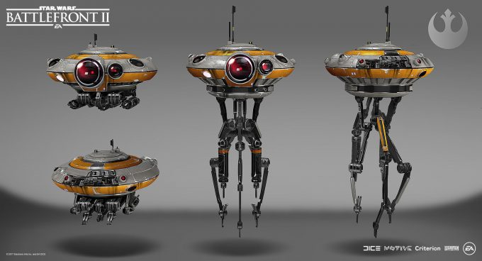 Star Wars Battlefront II Concept Art Mathieu Latour Duhaime 15