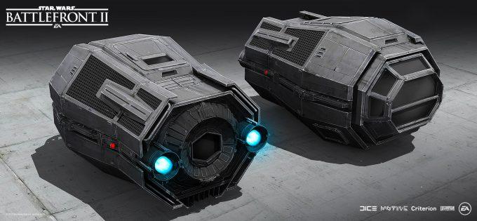 Star Wars Battlefront II Concept Art Mathieu Latour Duhaime 19