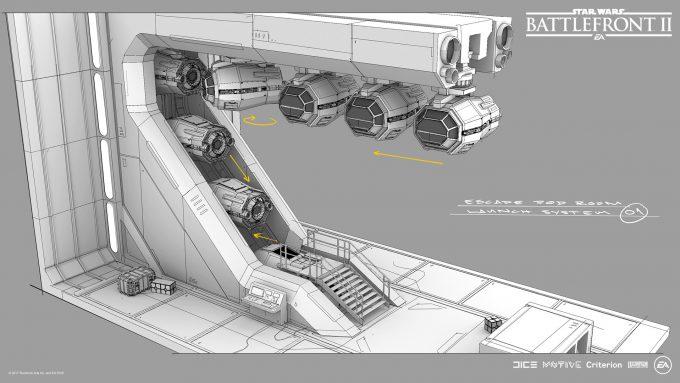 Star Wars Battlefront II Concept Art Mathieu Latour Duhaime 20