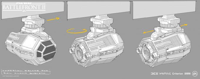 Star Wars Battlefront II Concept Art Mathieu Latour Duhaime 21