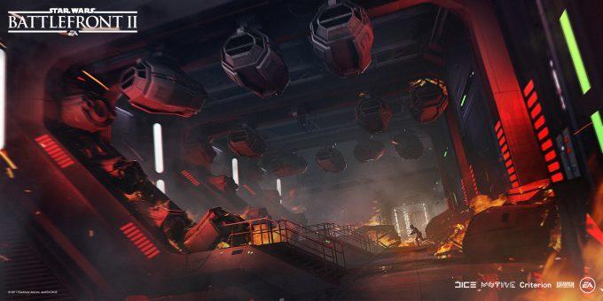 Star Wars Battlefront II Concept Art Mathieu Latour Duhaime 23