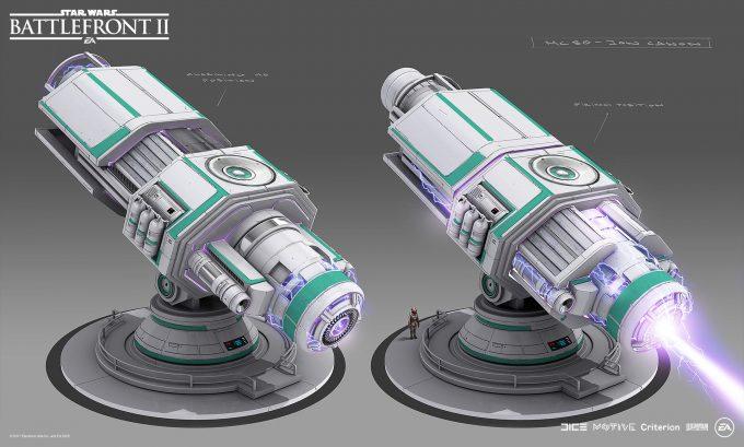 Star Wars Battlefront II Concept Art Mathieu Latour Duhaime 43