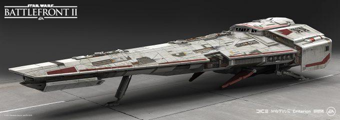 Star Wars Battlefront II Concept Art Mathieu Latour Duhaime 45