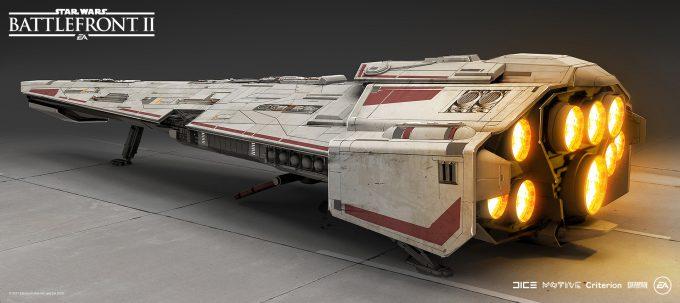 Star Wars Battlefront II Concept Art Mathieu Latour Duhaime 46