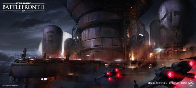 Star Wars Battlefront II Concept Art Mathieu Latour Duhaime 47