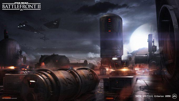 Star Wars Battlefront II Concept Art Mathieu Latour Duhaime 48