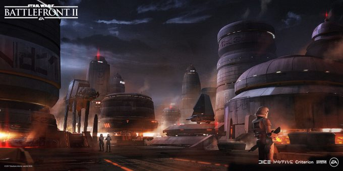Star Wars Battlefront II Concept Art Mathieu Latour Duhaime 49