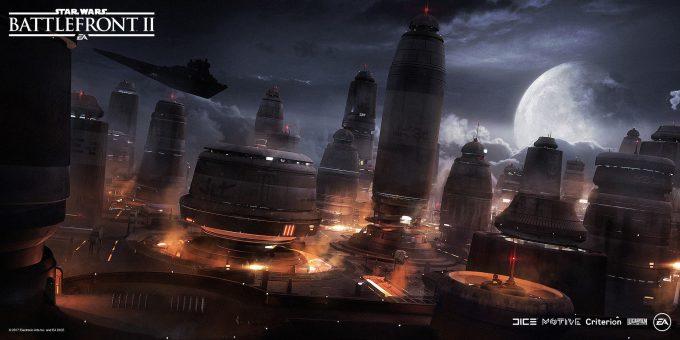 Star Wars Battlefront II Concept Art Mathieu Latour Duhaime 50