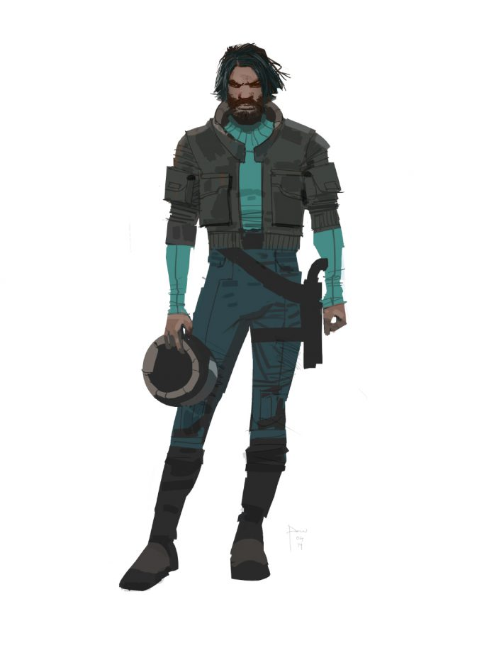 Star Wars The Force Awakens Concept Art Dermot Power Character Costume designs 08