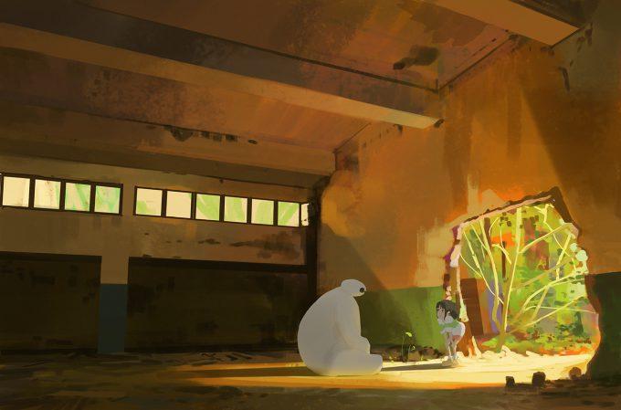 atey ghailan studio ghibli fan art 295 My Neighbor Totoro