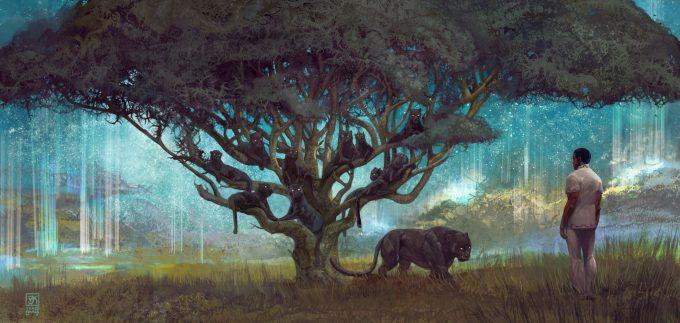 black panther concept art vance kovacs 00 Tree of Kings
