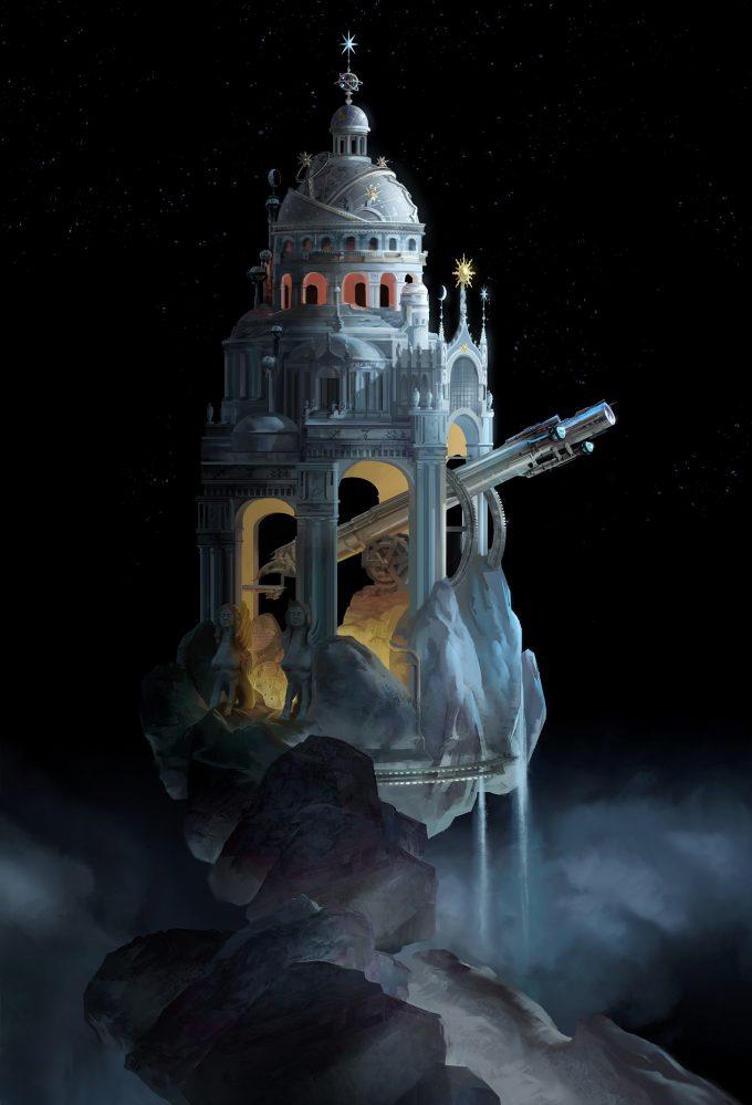 luc steadman design illustration theme park icon color 12