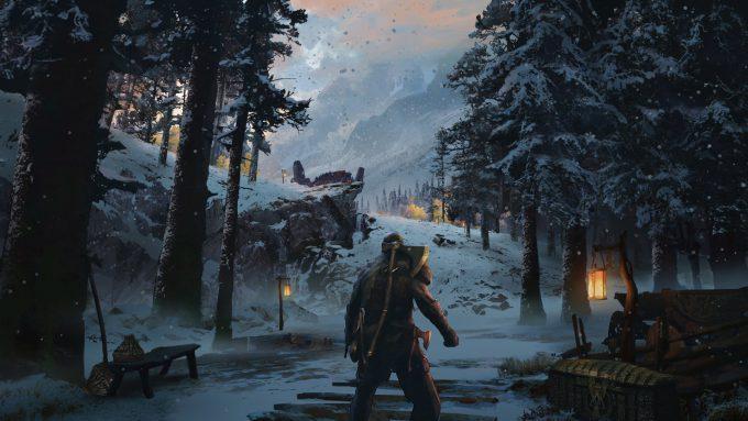 God of War Concept Art 01 Environment