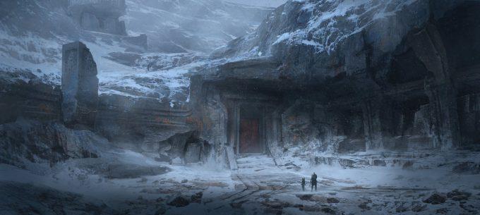 God of War Concept Art 04 Environment
