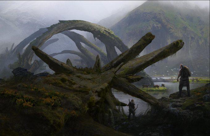 God of War Concept Art 06 Environment