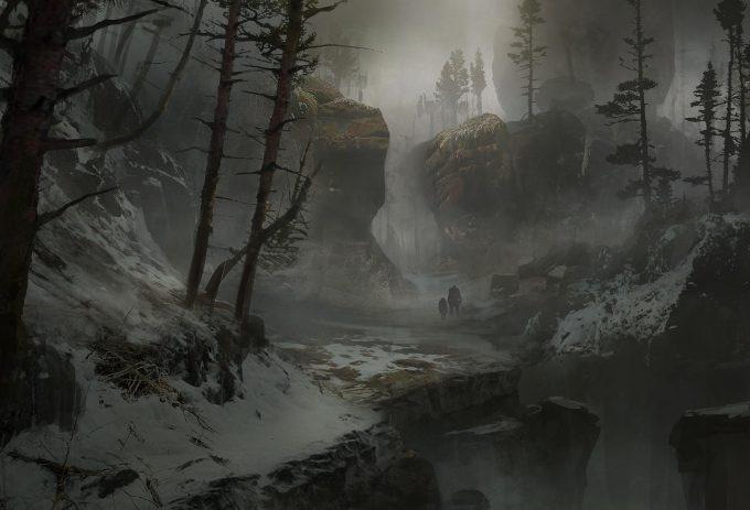 God of War Concept Art 08 Environment