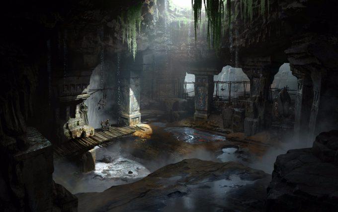 God of War Concept Art 09 Environment