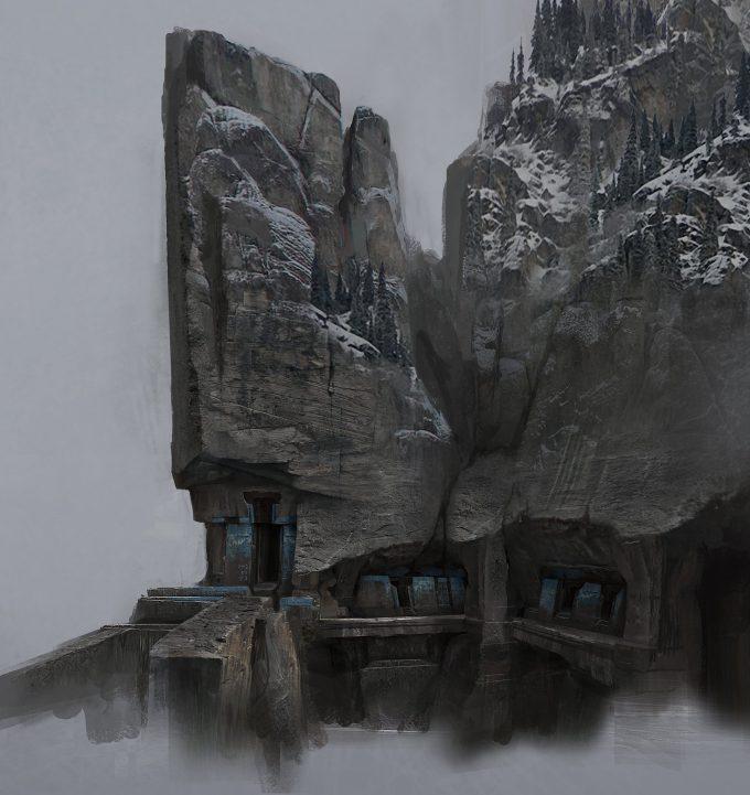 God of War Concept Art 10 Environment