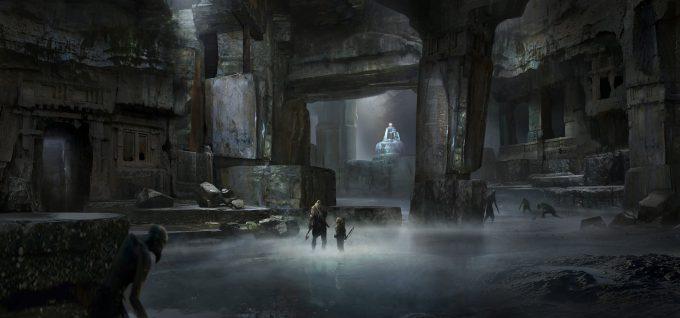 God of War Concept Art 11 Environment