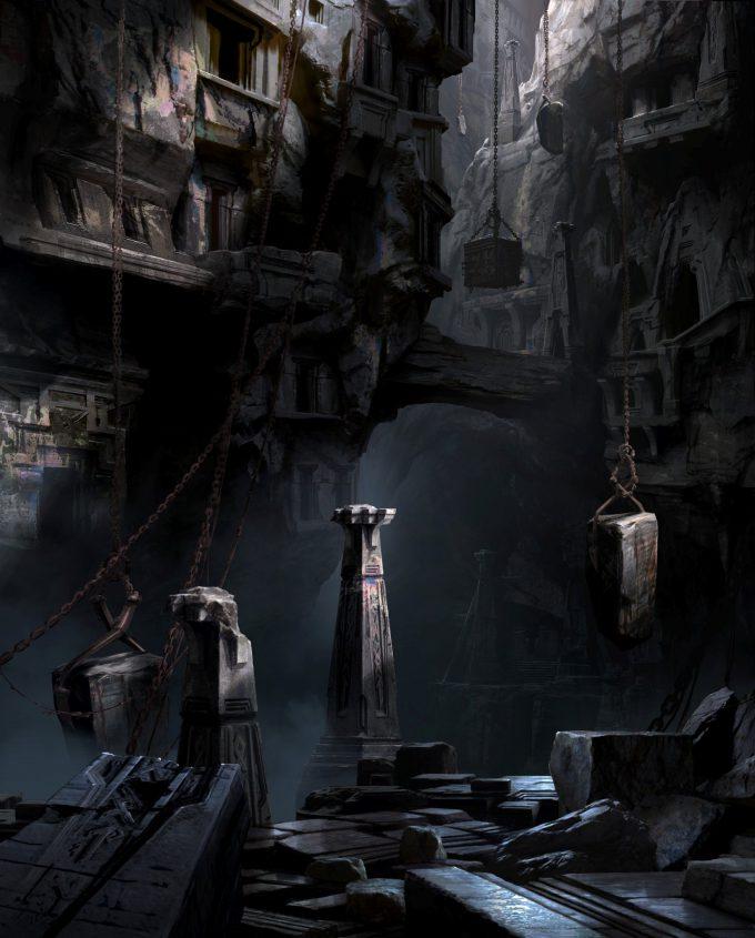 God of War Concept Art 12 Environment