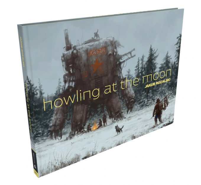 Howling at the MoonArt Book by Jakub Rozalski Book 01