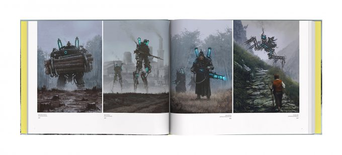Howling at the MoonArt Book by Jakub Rozalski Book 02