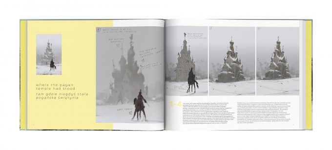 Howling at the MoonArt Book by Jakub Rozalski Book 03