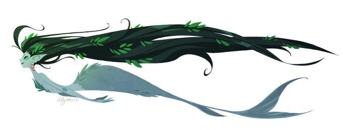 Mermaid Concept Art Illustration 01 Dana Guerrieri Merpunzel