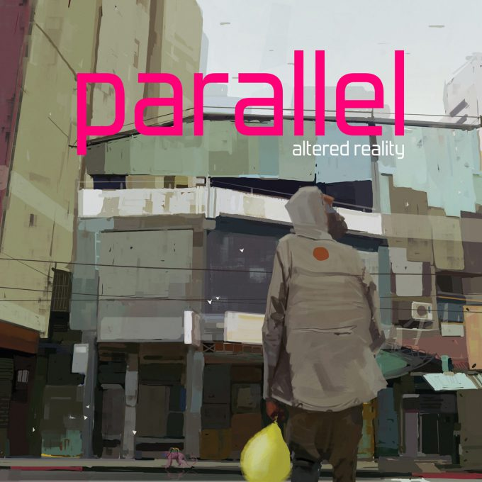 Parallel Altered Reality Art Book Sebastien Larroude Cover