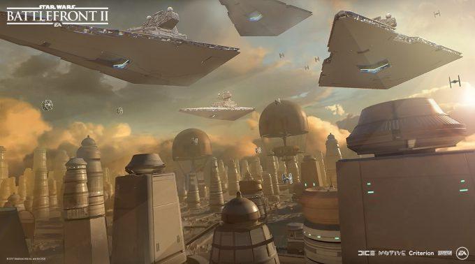 Star Wars Battlefront II Concept Art Nicolas Ferrand 04