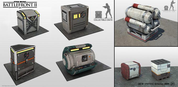 Star Wars Battlefront II Concept Art Nicolas Ferrand 08
