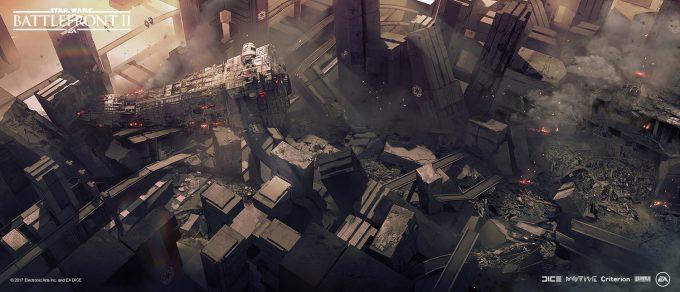 Star Wars Battlefront II Concept Art Nicolas Ferrand 09